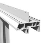 Silent Guard 9000 Horizontal Sliding Acoustic Window Integral Mounting Flange