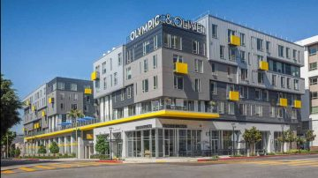 Olympic & Olive Apartments Mixed Use Multi-Family Silent Guard project