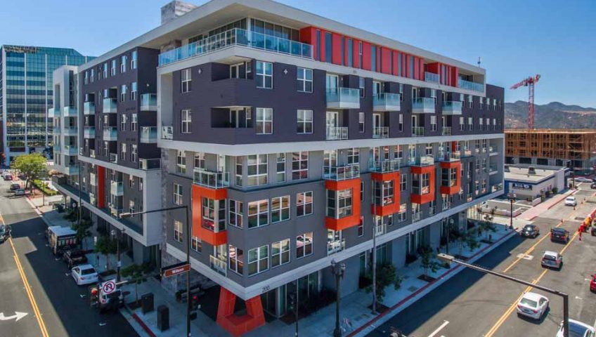The Brand Apartments Mixed Use Multi-Family Silent Guard project
