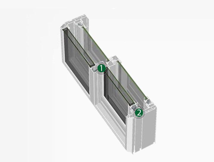 7000 Horizontal Sliding Window