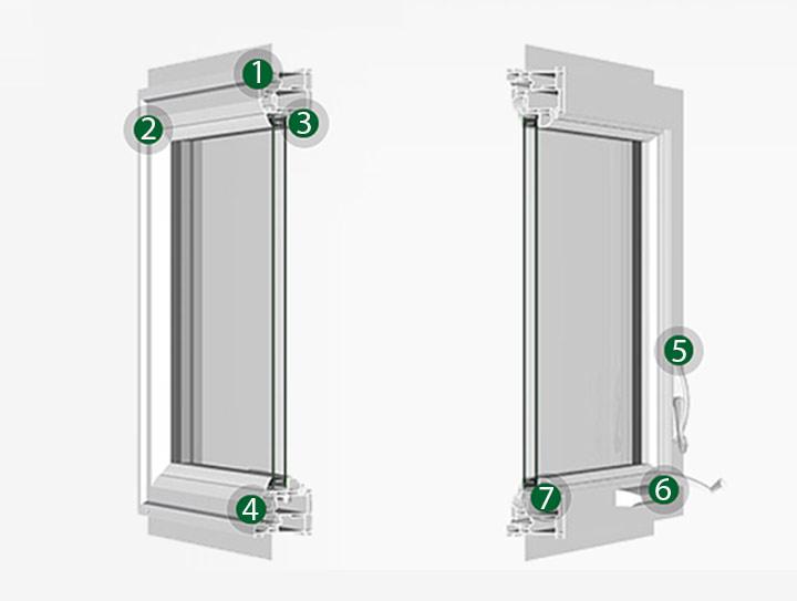 Silent Guard 720 Casement Acoustic Window