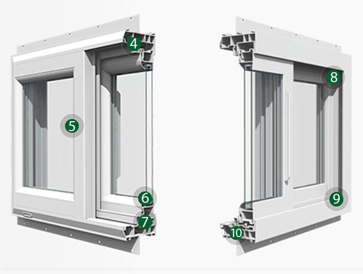 Silent Guard 9000 Horizontal Sliding Acoustic Window