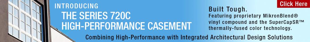 720C high-performance casement