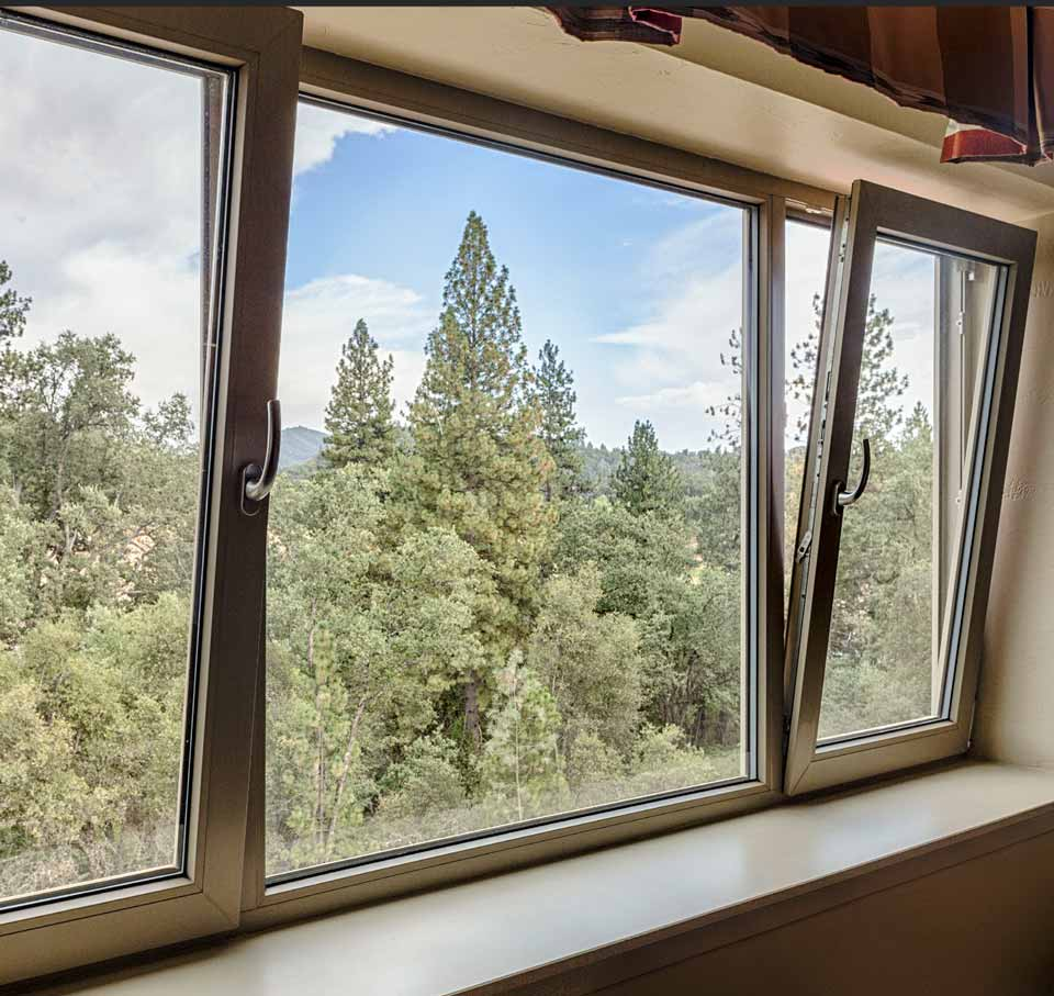 4500 architectural series tilt-turn fixed window